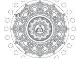 Mandala para Colorir Clit #1